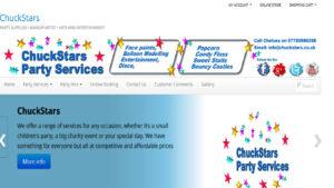 Online Webpage Websites ChuckStars