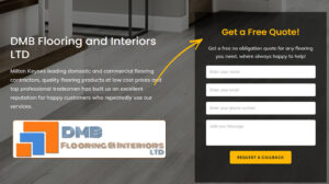 Online Webpage Websites DMB Floors and Interiors