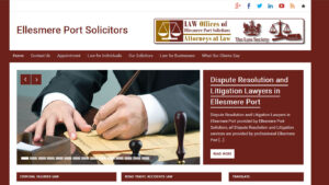 Online Webpage Websites Ellesmere Port Solicitors