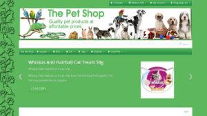 Online Webpage Websites The Pet Shop
