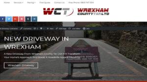 Wrexham County Tar online webpage