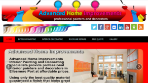 Online Webpage Websites advanced home improvements