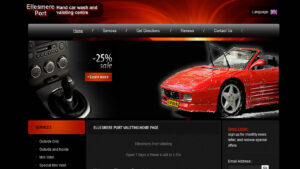 Online Webpage Websites carwash