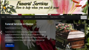 Online Webpage Websites chester funeral services