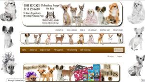 Online Webpage Websites dogs site