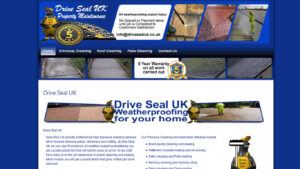 Online Webpage Websites drive seal uk