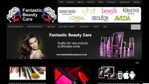 Online Webpage Websites fantastic beauty care