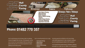 Online Webpage Websites hull county paving