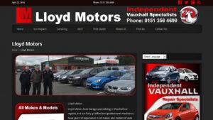 Online Webpage Websites lloyd motors