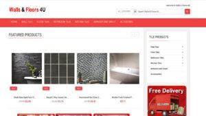 Online Webpage Websites walls and floors 4u